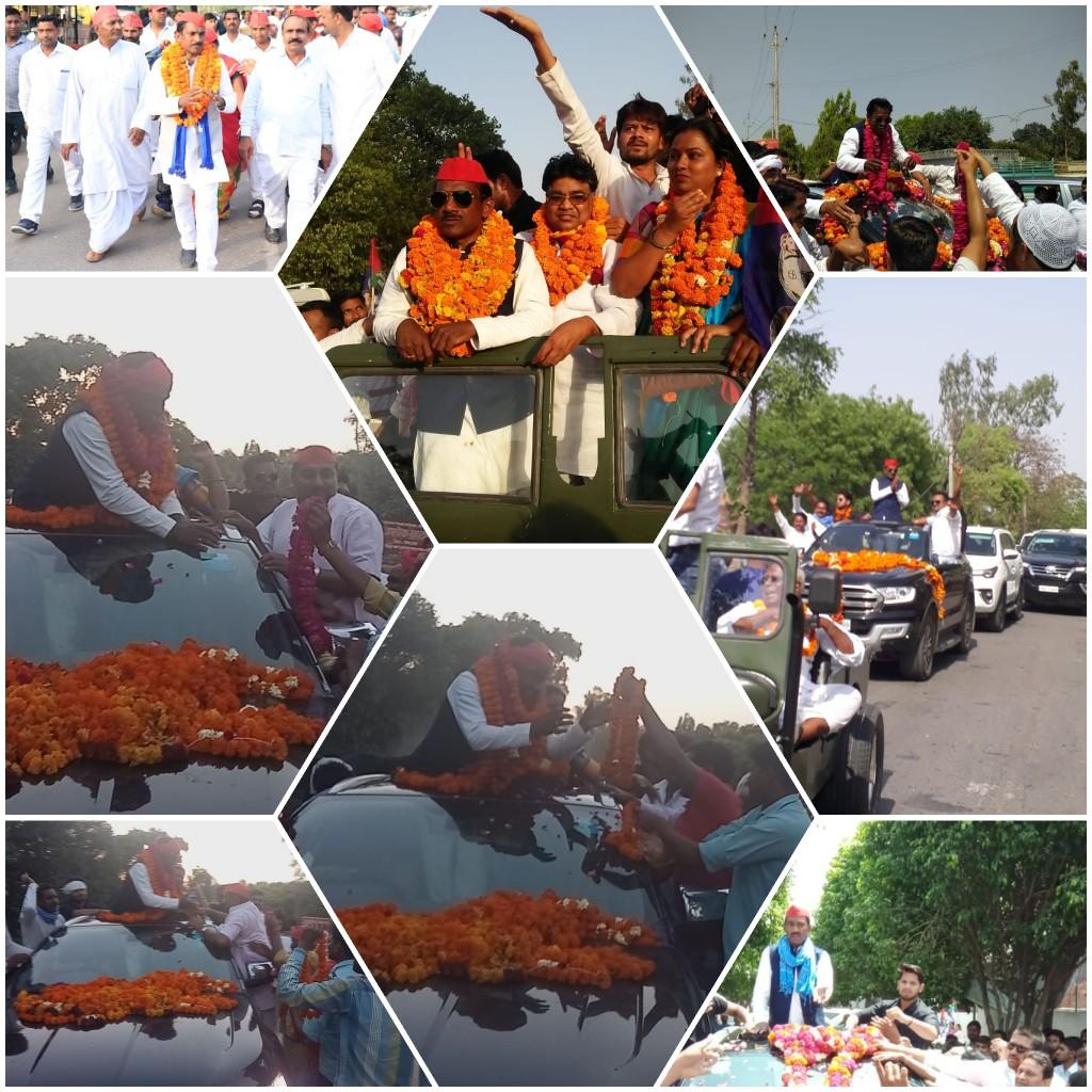 हिंदी समाचार | बसपा प्रत्याशी सीएल वर्मा के रोड शो में उमड़ा जनसैलाब  जगह-जगह हुआ स्वागत