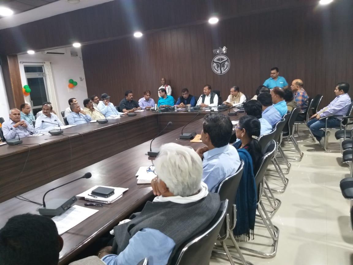 हिंदी समाचार  सीएमएस भदोही की अनुपस्थिति पर...