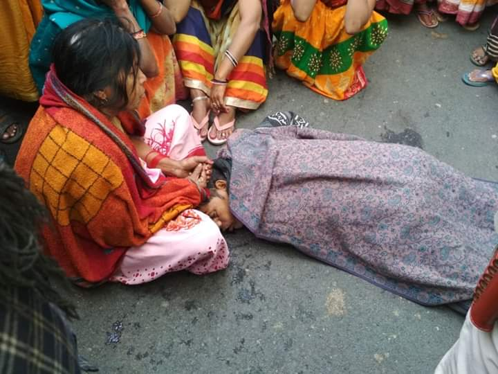 हिंदी समाचार | दुर्घटना के बाद बिगड़ी हालात को आगामी लोकसभा प्रत्यासी अजय कुमार पासवान ने संभाला