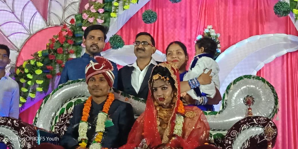 हिंदी समाचार |लवकुमार चौरसिया परिणय सुत्र...