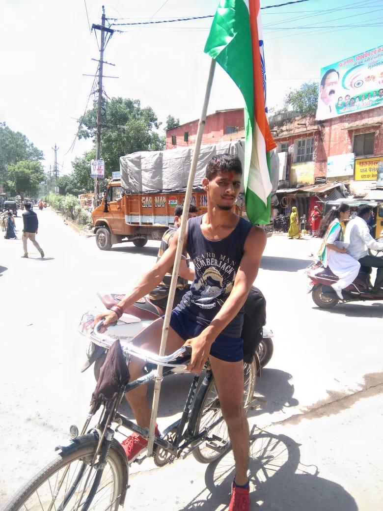 हिंदी समाचार | जल बचाओं अभियान के तहत भदोही से मुंबई तक गोविंद यादव ने...