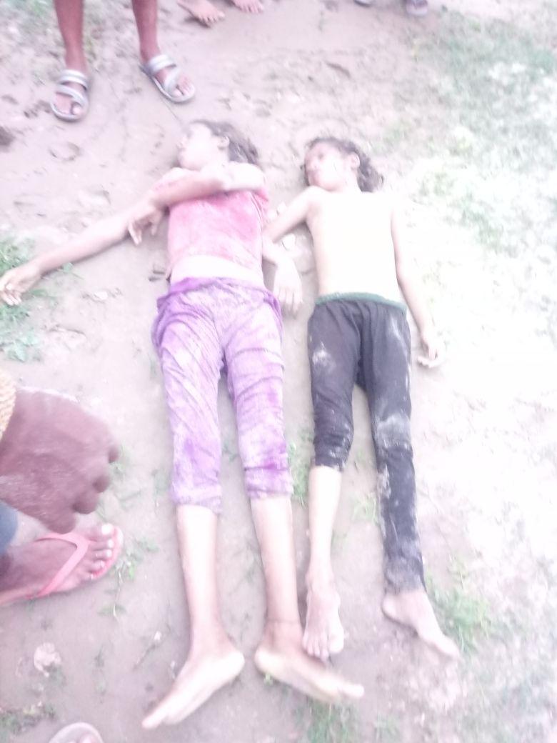 हिंदी समाचार |गंगा में डूबने से दो सगी बहनों...
