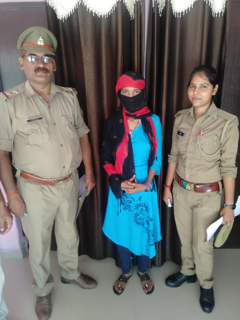 हिंदी समाचार | खण्डासा पुलिस की सक्रियता से अपहृता हुयी बरामद