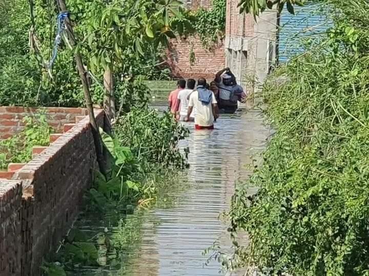 हिंदी समाचार  बारिश के बाद अयोध्या नगर निगम...