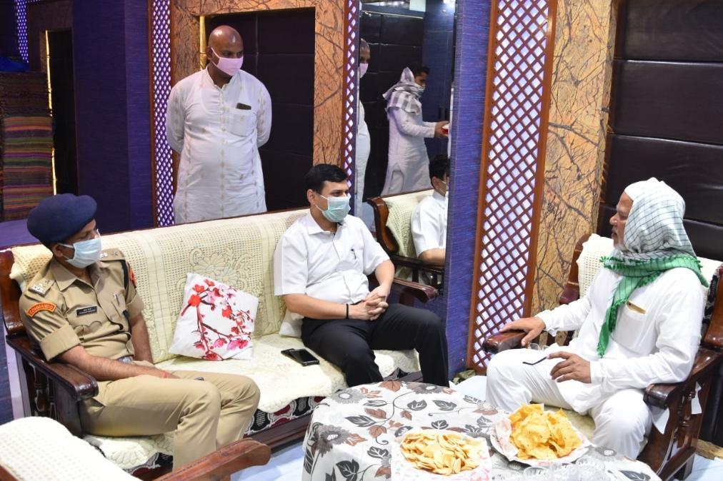 हिंदी समाचार |नियमो संग ईद मनाने मर DM और SSP ने...