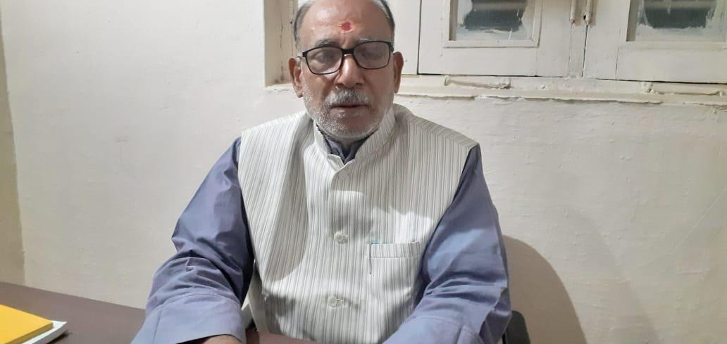 हिंदी समाचार  राकांपा नेता पारसनाथ तिवारी...