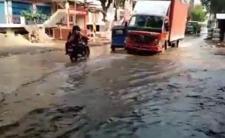 हिंदी समाचार |जल निकासी न होने से बड़ी...