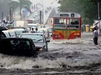 हिंदी समाचार |बारिश के चलते मुंबई जैसे शहर...