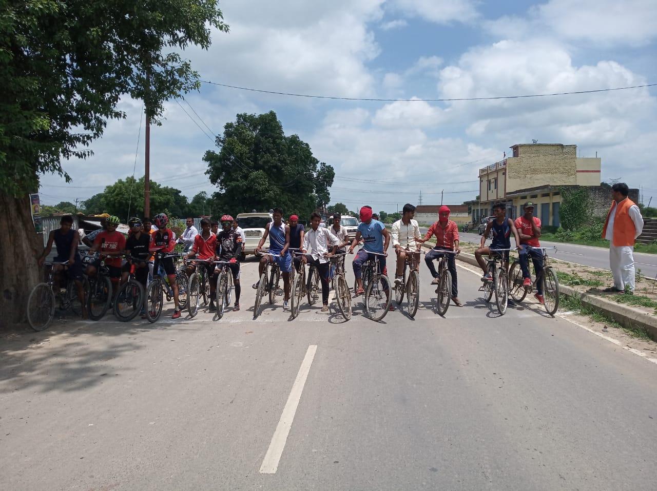 हिंदी समाचार |साइकिल रेस की प्रतियोगिता...