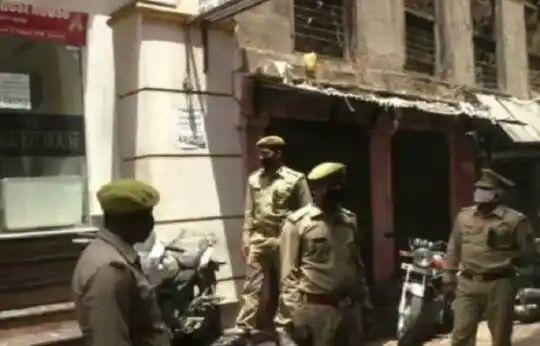 हिंदी समाचार  एक ही चौकी के सात पुलिसकर्मी...