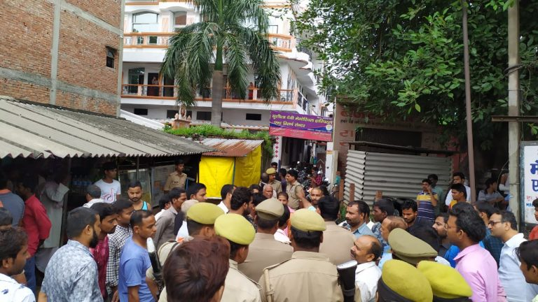हिंदी समाचार |युवक की मौत होने से आक्रोशित...