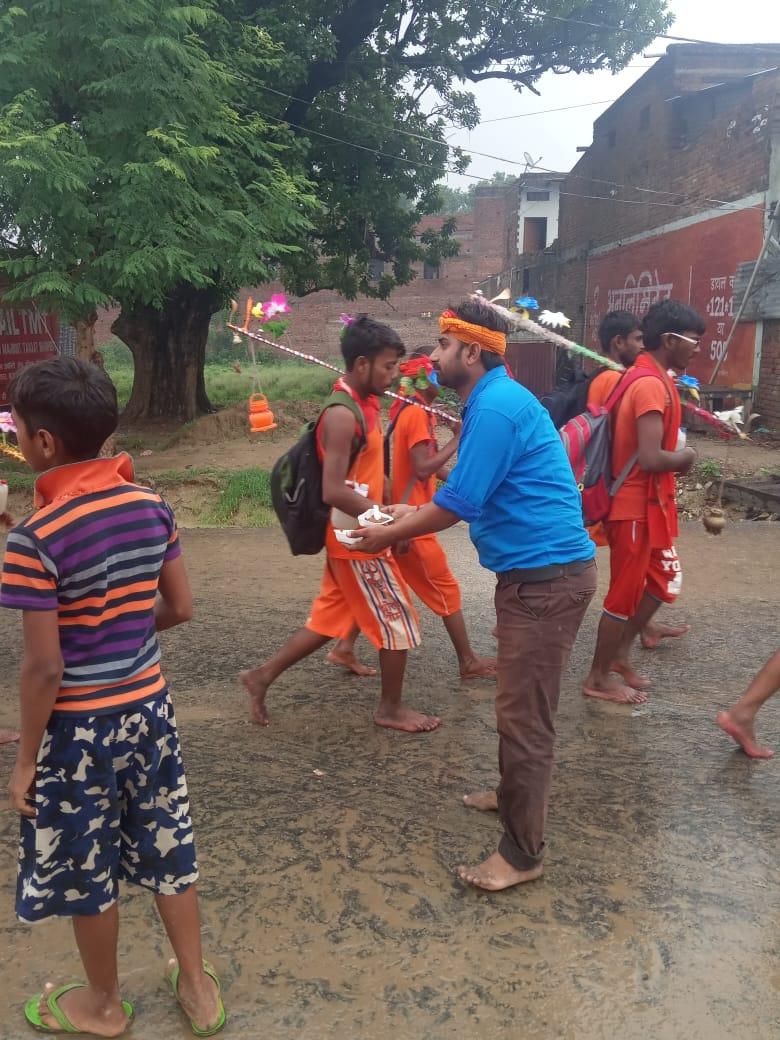 हिंदी समाचार |कांवरियों की सच्चे मन से सेवा...