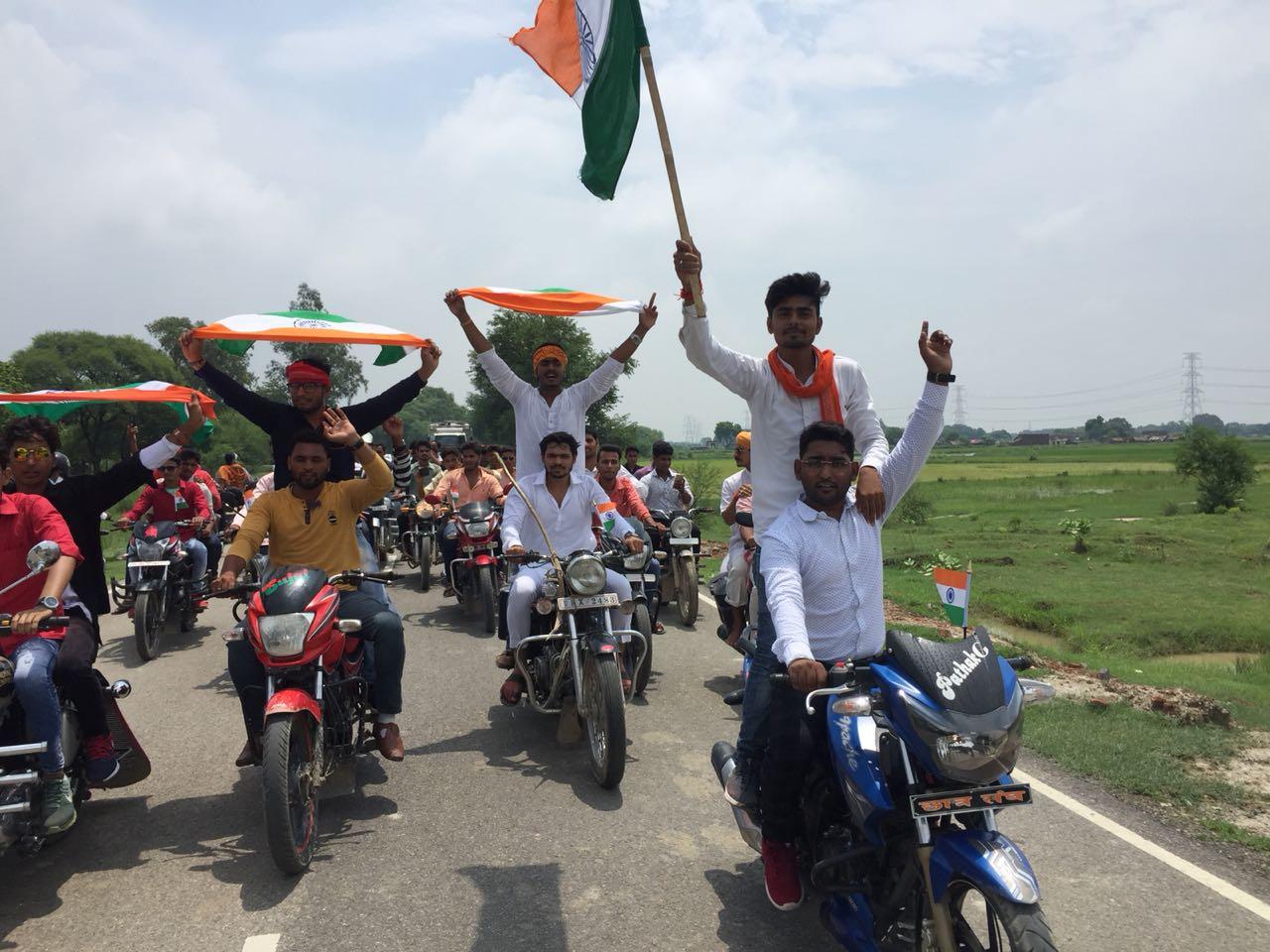 हिंदी समाचार |भगवा रक्षा वाहिनी ने किया...