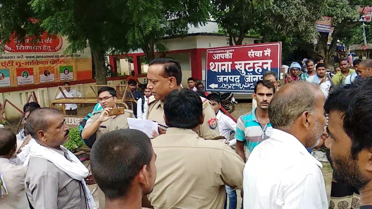 हिंदी समाचार  मारपीट में घायल महिला की हुई...