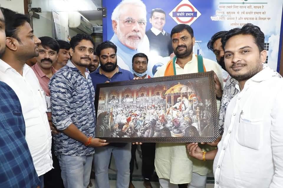 हिंदी समाचार |भाजपा नेता डॉ शुक्ला का अखंड...