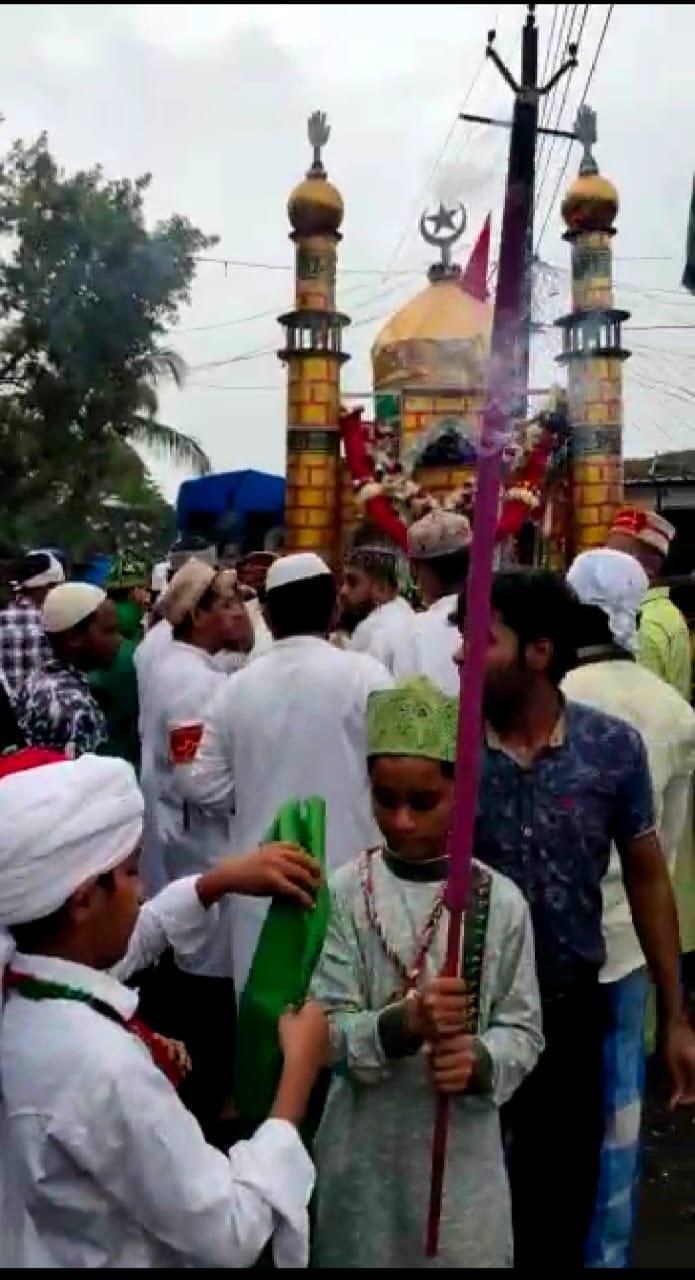 हिंदी समाचार |अमन के शहर बोईसर से निकली...
