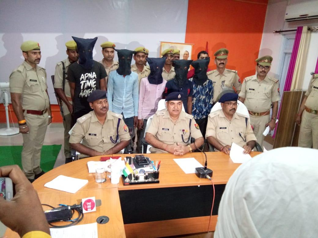 हिंदी समाचार |लूट के 16 मोटरसाइकिल के साथ 5 चोर...