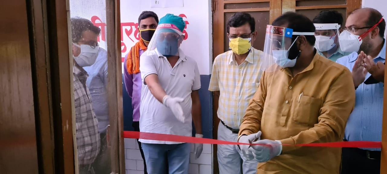हिंदी समाचार | विधायक दिनेश चौधरी ने किया एल...