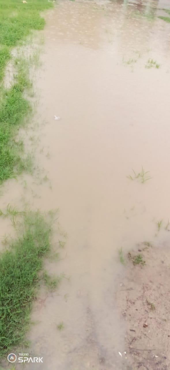 हिंदी समाचार |बरसठी में भारी बरसात से...