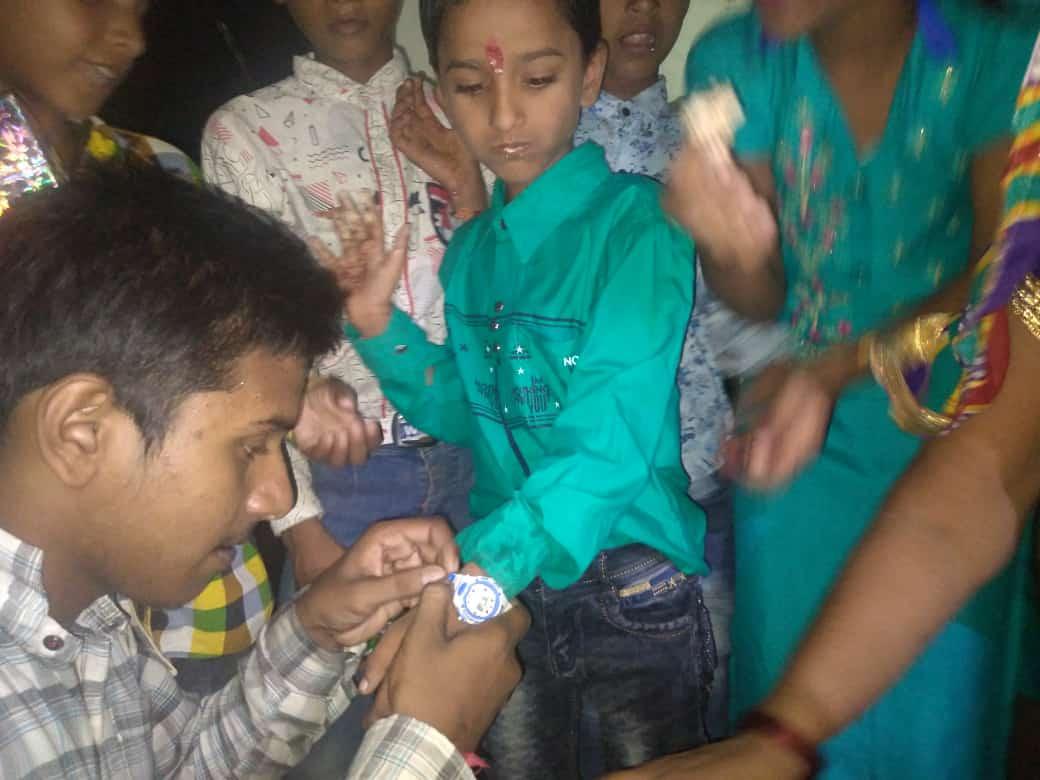 हिंदी समाचार |अंश केसरी के जन्मदिवस पर किया...