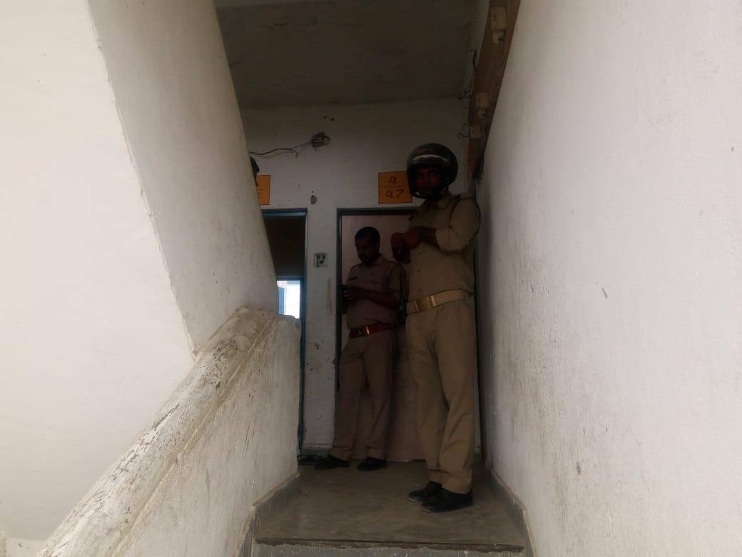 हिंदी समाचार |काशीराम आवासीय कालोनी में...
