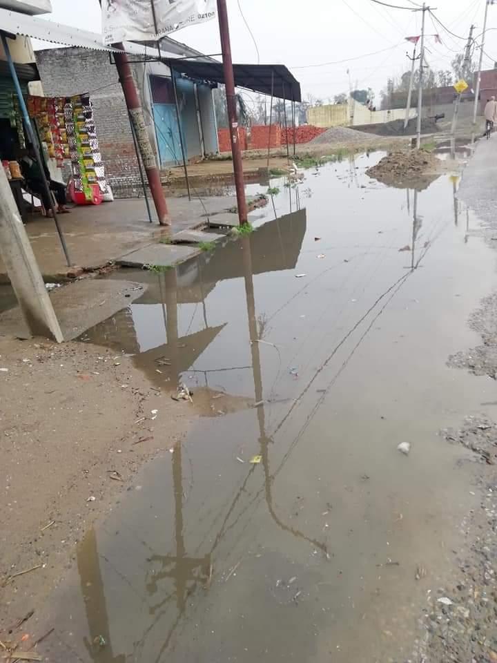 हिंदी समाचार |बेमौसम की बारिश ने ईंट भट्टा...