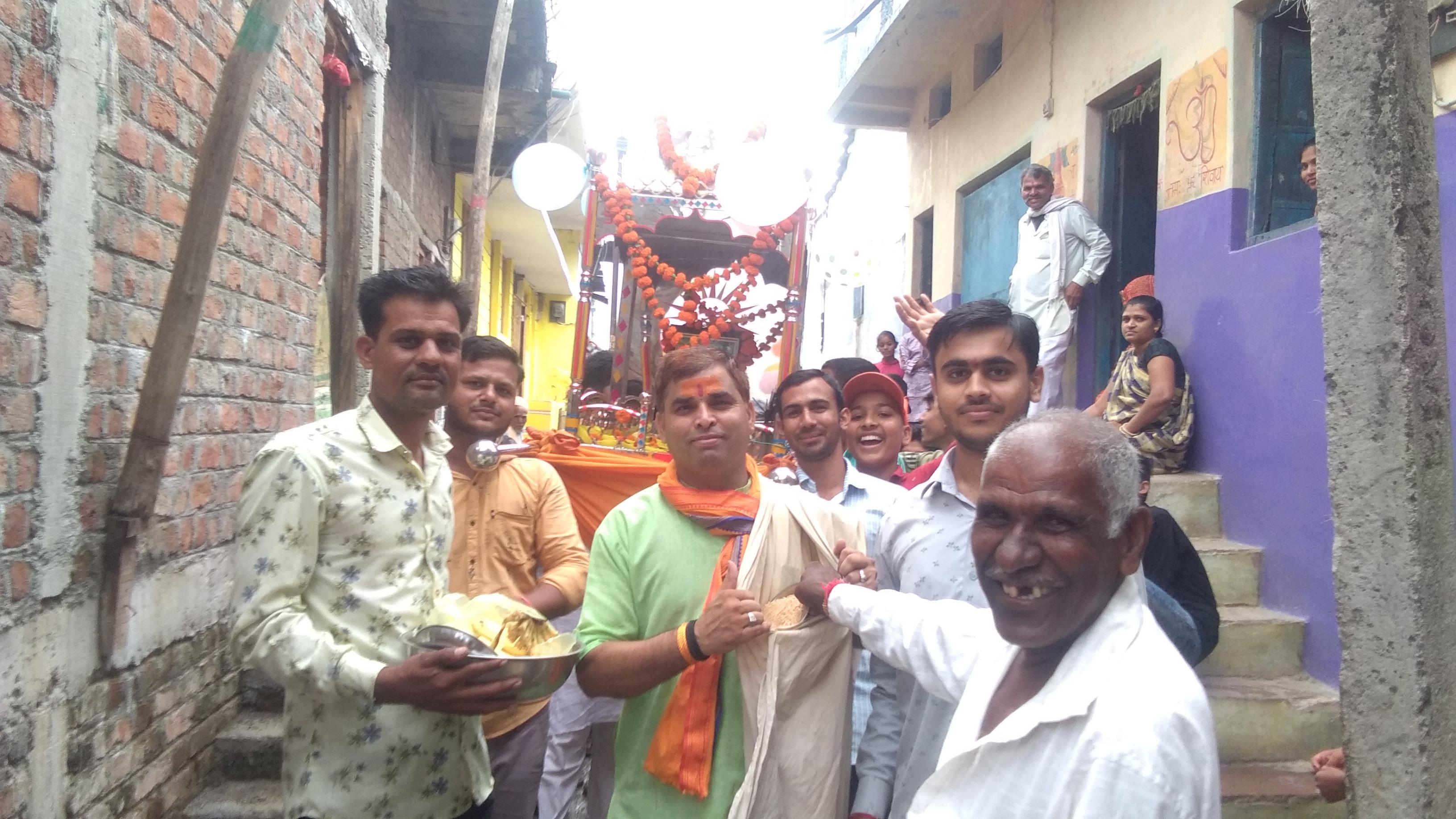 हिंदी समाचार |डोल ग्यारस पर रिमझिम बारिश के...