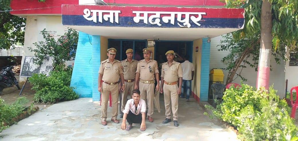 हिंदी समाचार   मदन पुर पुलिस ने टाँप टेन...