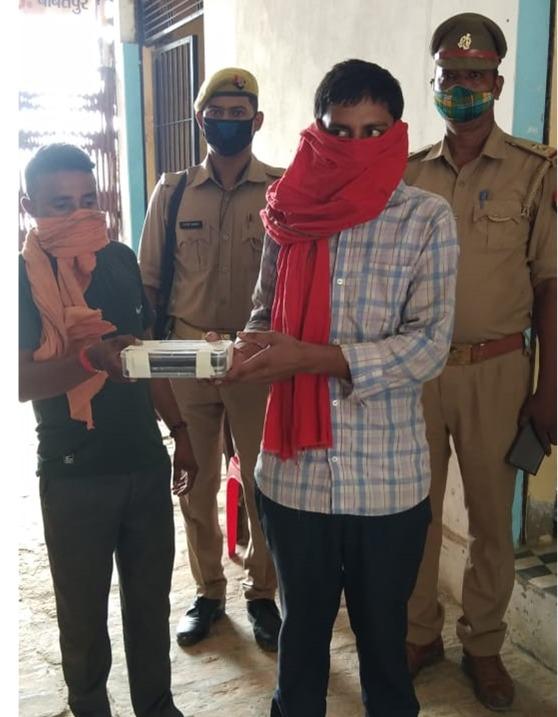 हिंदी समाचार |थाना सिंधोरा पुलिस ने चोर को...