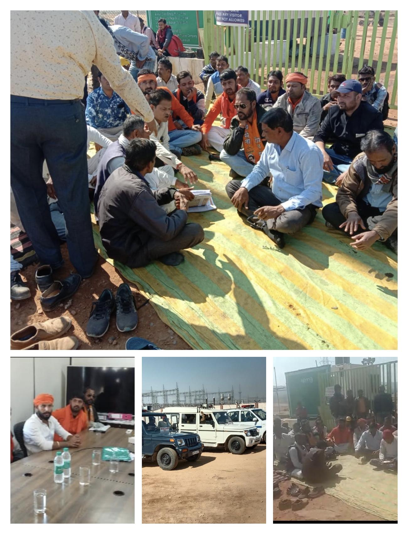 हिंदी समाचार | सीधी शिवसेना ने सौर ऊर्जा गुढ...