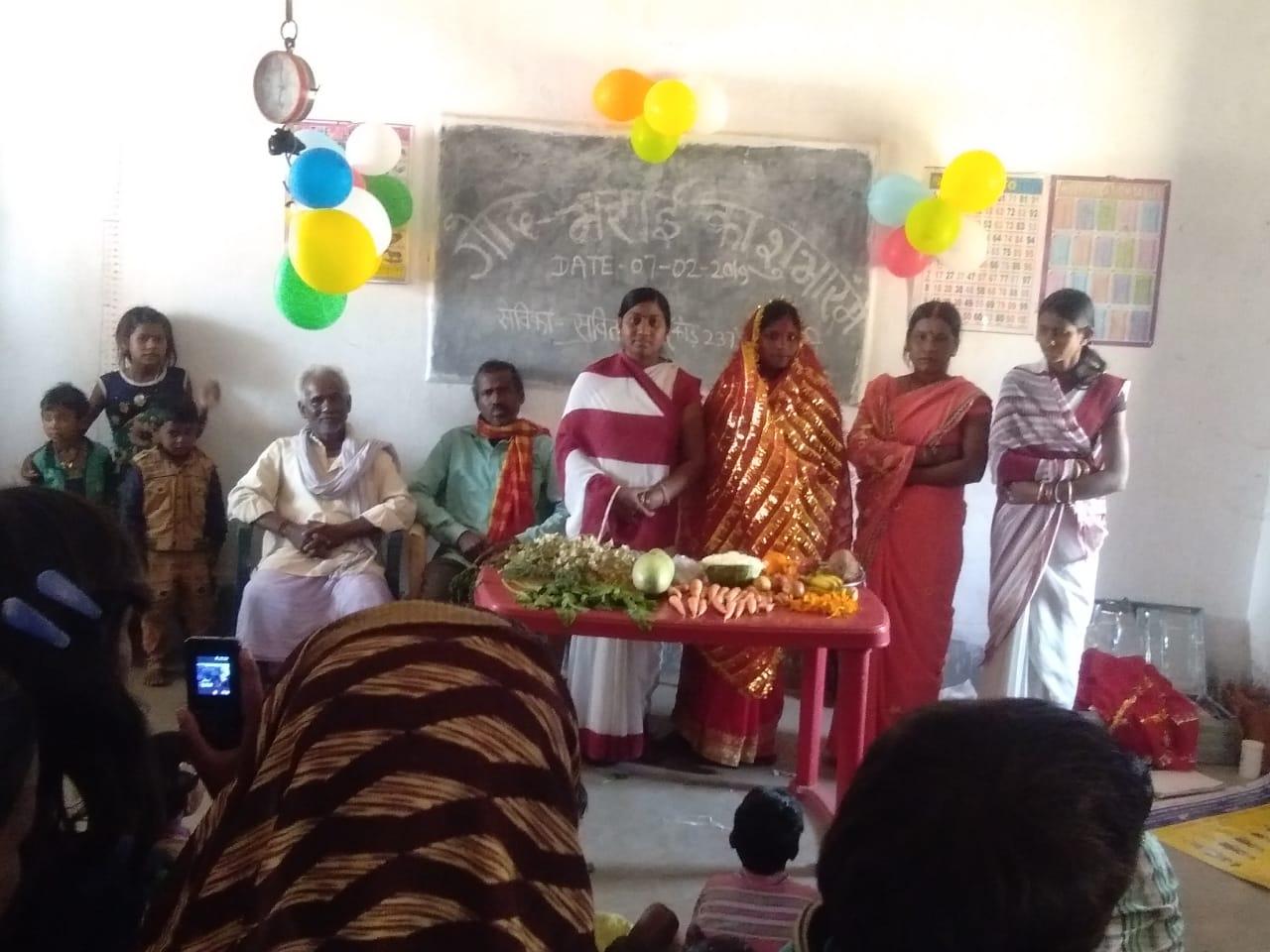 हिंदी समाचार | आंगनबाड़ी केंद्रों पर हुई गोदभराई की रस्म, बच्चों का कराया गया अन्नप्राशन