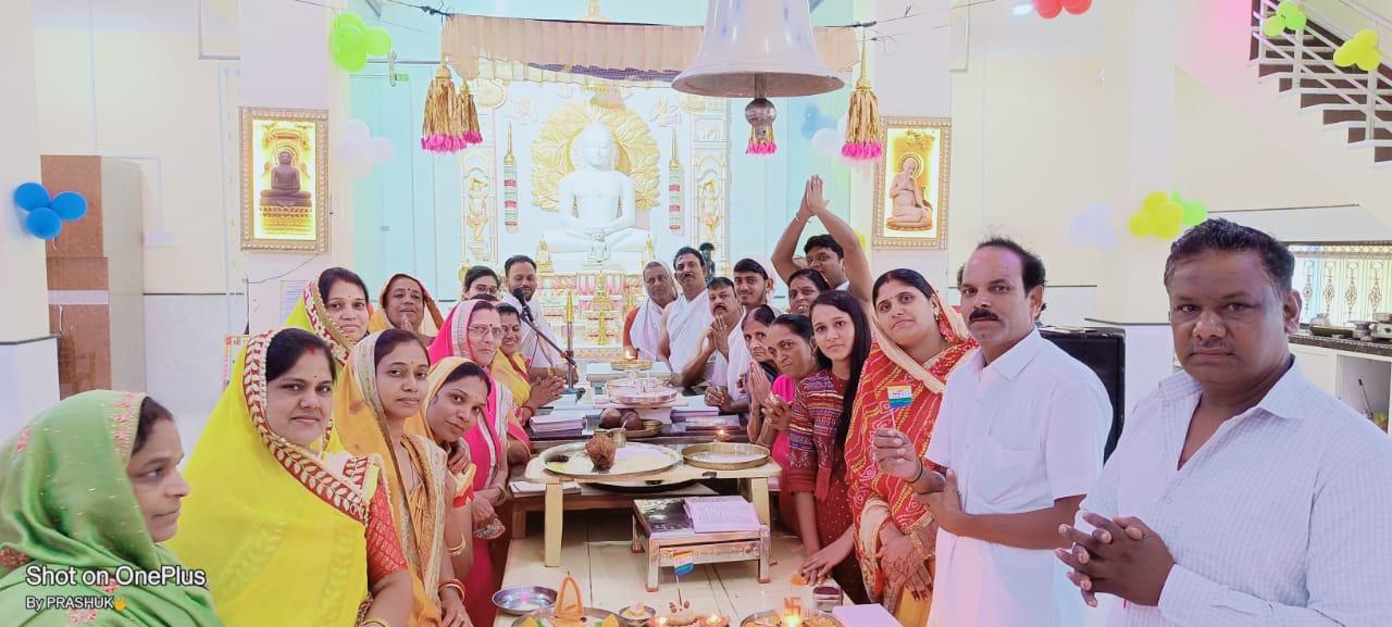 हिंदी समाचार |महा पर्युषण पर्व पर मंदिर में...