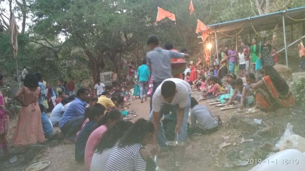 हिंदी समाचार |कलवा मे माता के दरबार मे नाग...