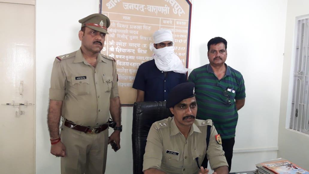 हिंदी समाचार  वाराणसी शिवपुर की पुलिस ने...