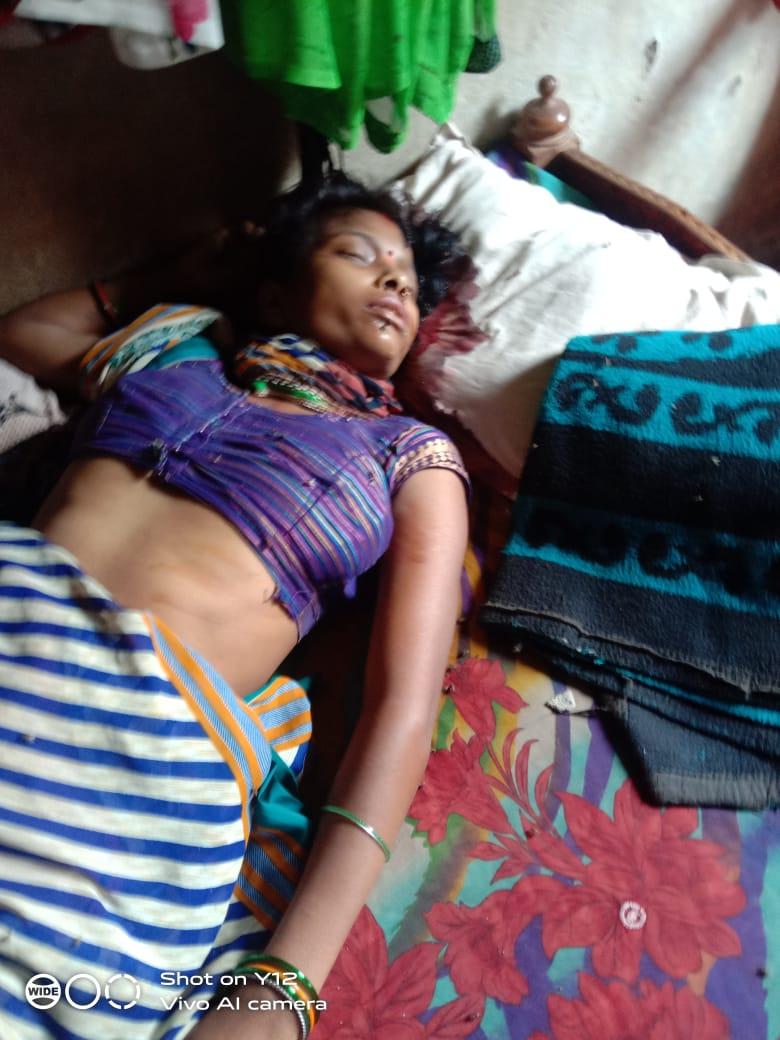 हिंदी समाचार |सब्बर मार कर पति ने कर दी पत्नी...