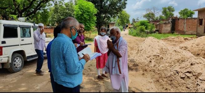 हिंदी समाचार |अवैध बालू भंडारण पर लखनऊ की...