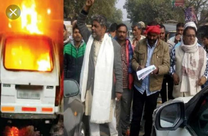 हिंदी समाचार |डीएम के रिपोर्ट पर स्कूल वैन...