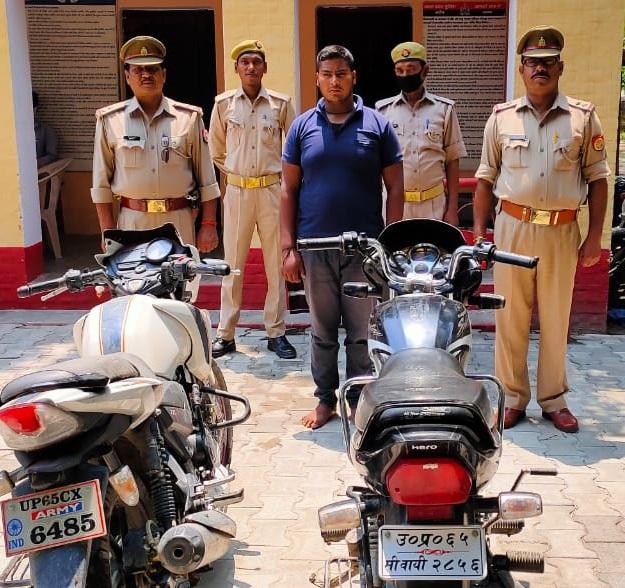 हिंदी समाचार |जौनपुर थाना चन्दवक पुलिस...