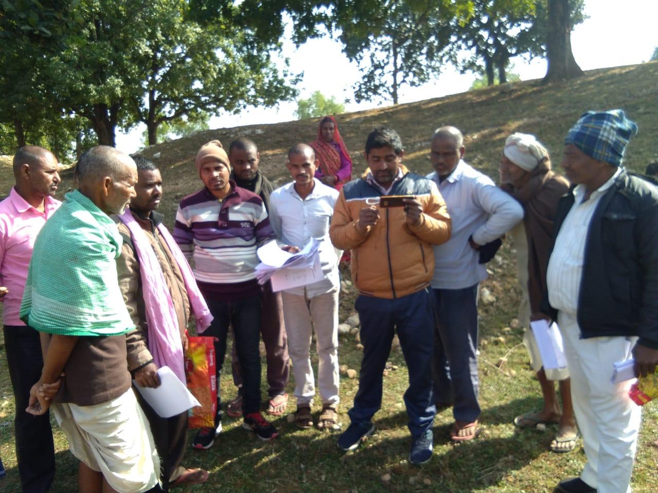 हिंदी समाचार | कृषि सलाहकार ने लाभुकों का...